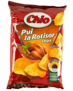 Chips cu aroma de pui la rotisor Chio 140g
