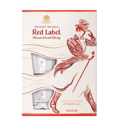 Set cadou Johnnie Walker Red Label