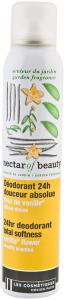 Deodorant spray 24h cu parfum vanilie Les Cosmetiques Nectar of Nature 200ml