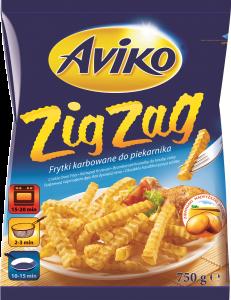 Cartofi congelati Zig Zag Aviko 900g