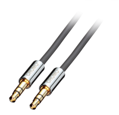CABLU AUDIO JACK STEREO 3.5MM CROMO T-T 3M, LINDY L35303
