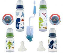 Set nou nascut SNN, baieti, perie albastra, Primii Pasi