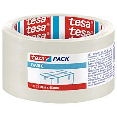 Banda ambalare BASIC 50MX48MM Transparent, Tesa