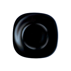 Farfurie adanca 21 cm Opal Carine, negru, Luminarc