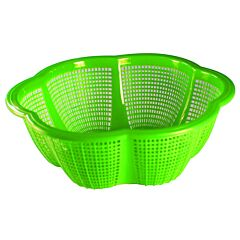 Cos perforat Hortensia 28 cm, verde
