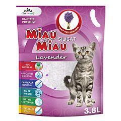 Silicat Miau Miau Lavanda 3.8l