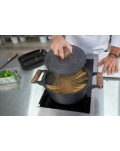 Cratita aluminiu + capac 4.5 L, Chef Sorin Bontea