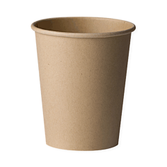 Set 15 pahare biodegradabile 240 ml, Biodeck