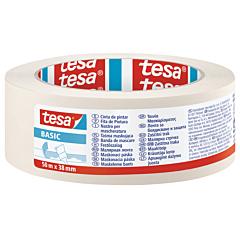 Banda mascare BASIC 50M x 38MM, crem, Tesa
