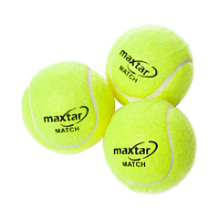 Set 3 mingi tenis de camp, Maxtar Match