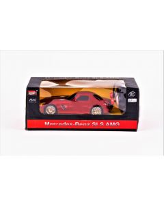 Masina cu telecomanda Mercedes Benz SLS AMG, Rosie
