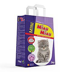 Asternut igienic Miau Miau Mini Lavanda 3 kg