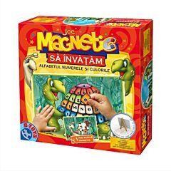 Joc magnetic Alfabet, numerele si culorile, D-Toys