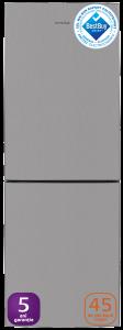 Combina frigorifica AK60340NFTMT+ Arctic, 302 litri, Clasa A+, Inox