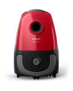 Aspirator cu sac Philips PowerGO FC8243/09, S-Bag, 750W, Rosu