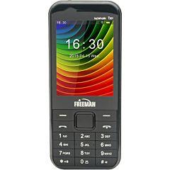 Telefon mobil T301 Freeman, Negru, Dual Sim