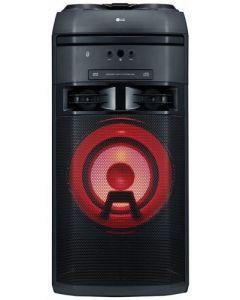 Sistem audio xBoom OK55 LG, 500W, Bluetooth, USB, Aux, CD, FM, Intrare microfon Negru