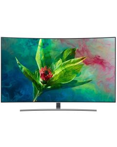Televizor QLED Curbat Smart 65Q8CN Samsung, 163cm, 4k UHD