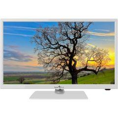 Televizor LED 2419DTSW Smart Tech, 61 cm, HD, Alb