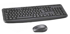 Kit Tastatura + Mouse BKM37-18L Bluesky, Wireless, Negru