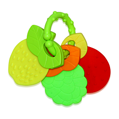 Jucarie zornaitoare bebelusi, 3 Fruits, Lorelli