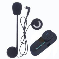 Sistem de comunicare moto Intercom FreedConn Tcom-VB, Bluetooth, FM Radio (fara ecran)