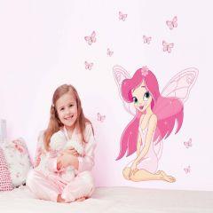 Sticker perete Pink Fairy