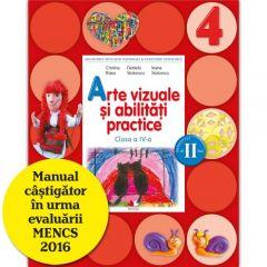 Arte vizuale si abilitati practice. Manual. Clasa a IV-a (semestrul II) (contine CD)
