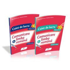 Comunicare in limba romana. Set Caiete de lucru. Clasa a-II-a. Dupa manualul Cd Press