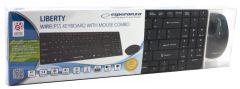 Set Tastatura Esperanza+Mouse Liberty EK122K