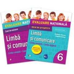 Evaluare nationala Limba si comunicare cls 6 limba romana-limba engleza - Madalina Vincene