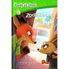 Disney. Invat sa citesc. Nivelul 3 - Zootropolis: Scapa cine poate!
