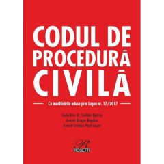 Codul de procedura civila ed.2017 - Evelina Oprina