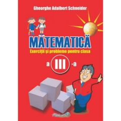 Matematica - Clasa 3 - Exercitii si probleme - Gheorghe Adalbert Schneider