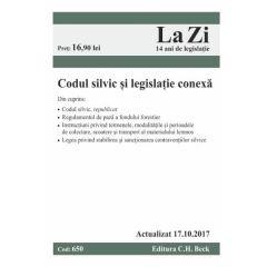 Codul silvic si legislatie conexa Act. 17.10.2017