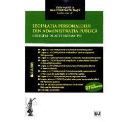 Legislatia personalului din administratia publica - Dan Constantin Mata