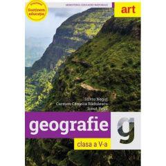 Geografie - Clasa 5 - Manual + CD - Silviu Negut, Carmen Camelia Radulescu