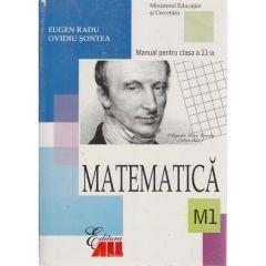Manual manual matematica clasa 11 M1 2006 - Eugen Radu, Ovidiu Sontea