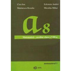 Matematica - Clasa 8. Sem. 1 - Auxiliar - Cicu Ion, Marinescu Rozalia