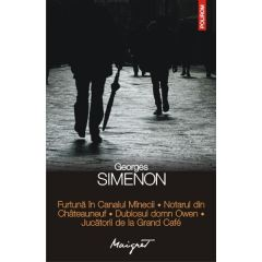 Furtuna in Canalul Manecii - Georges Simenon