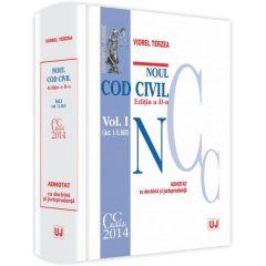 Noul Cod civil vol. II (art. 1.164-2.664) adnotat cu doctrina si jurisprudenta ed. 2 - Viorel Terzea