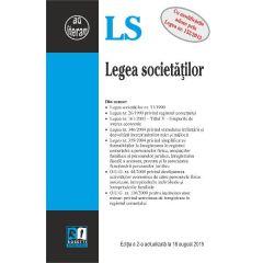 Legea Societatilor Act. 18 August 2015