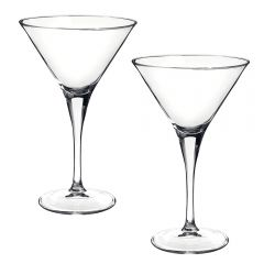 Set 2 pahare de cocktail, Bormioli Rocco, model Party Ypsilon, fabricat in Italia, 245 ml, transparent