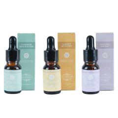 Uleiuri aromaterapie, set de 3, Amazing Orient, Hammam Inspiration, Sunset Mystery, 3 x 10 ml, 3 x ulei esential Scentchips
