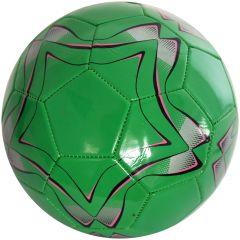 Minge de fotbal marimea nr. 5, Quasar, verde-roz