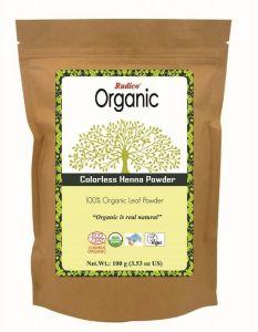 Pudra de Henna 100% ecologica (fara colorare)  Radico 100g