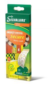 Capcana cu adeziv impotriva moliilor de alimente, fara insecticid, SILVALURE Secure, 2 bucati/pachet