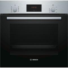 Bosch Cuptor incorporabil multifunctional HBF134ES0, 7 functii, 66 l, display LED, EcoClean Direct, inox