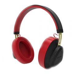Casti Wireless Bluedio TM Stereo, Bluetooth, Anularea zgomotului, Handsfree, Microfon, Conectare multipla, Control Vocal, Rosu