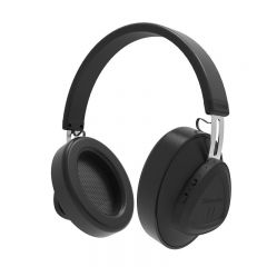 Casti Wireless Bluedio TMS Stereo, Bluetooth, Anularea zgomotului, Microfon, Negru